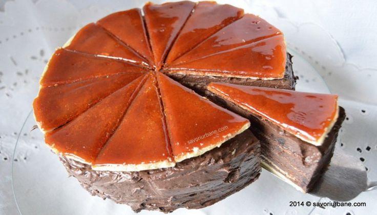 """Tort Dobos reteta originala a lui Dobos Jozsef, creatorul acestuia. Dobos Torta este un """"Hungaricum"""", un produs traditional unguresc, marca inregistrata,"""
