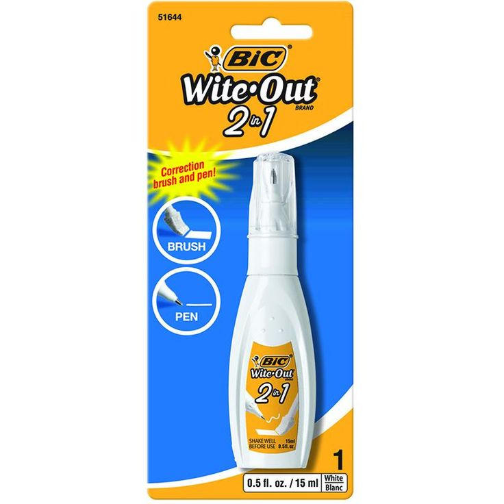 BIC WITE OUT 2 IN 1