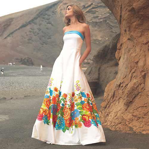 Vestidos de flores para el verano