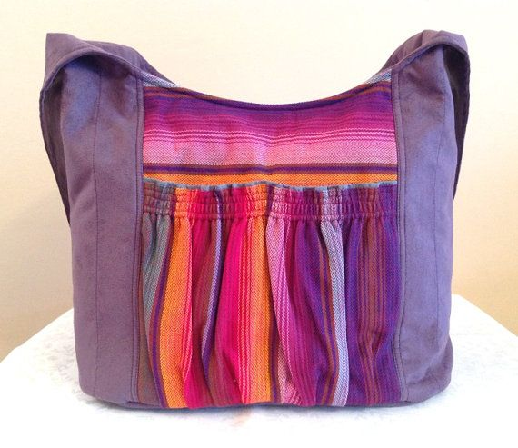 Kangala Bag Babywearing Purple Tote Bag with Girasol by kangala, $59.00