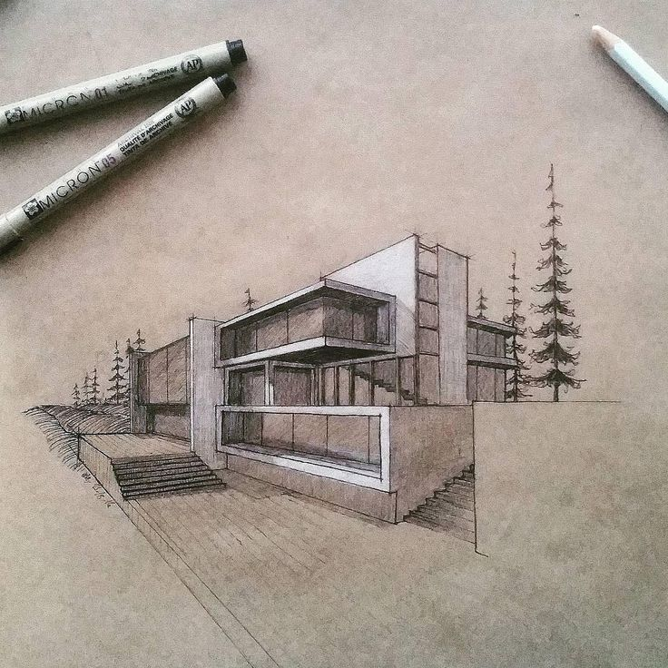 architectural drawings of modern houses. See This Instagram Post By @archisketcher \u2022 11.1k Likes. Sketch ArchitectureSketchingHand Architectural Drawings Of Modern Houses E