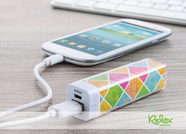 Ha lemerülne a telefonod, legyen mindig kéznél egy USB akkumulátor töltő, csakis egyedi formában, Neked!