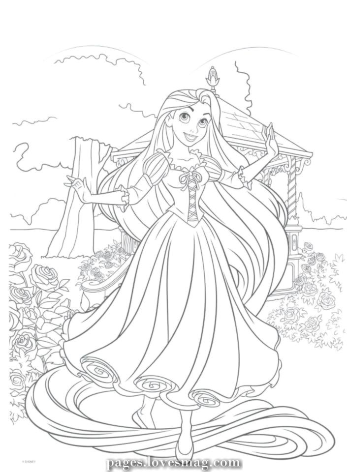 Lovely Disney Tangled To Paint Web Page Rapunzel Coloring Pages Princess Coloring Pages Disney Princess Coloring Pages