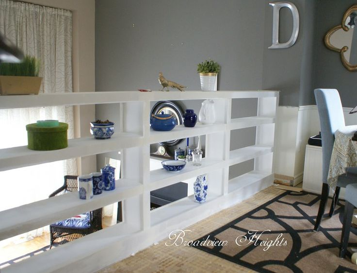 Best Open Bookcase Railing For The Home Pinterest 400 x 300
