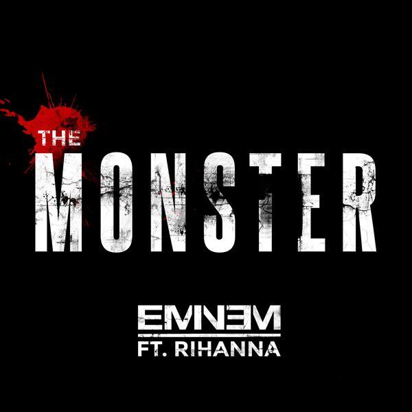 Capa do Single de The Monster de Eminem e Rihanna