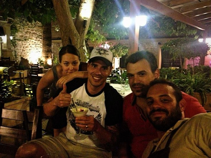 #SeenatAlana #Rethymno #Friends