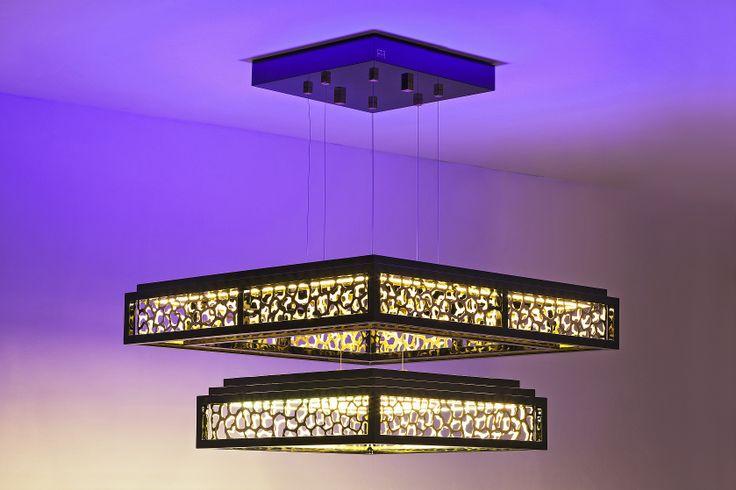 LED RGB + Warm White Lamp