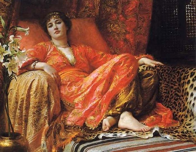 One of my fave Orientalist paintings