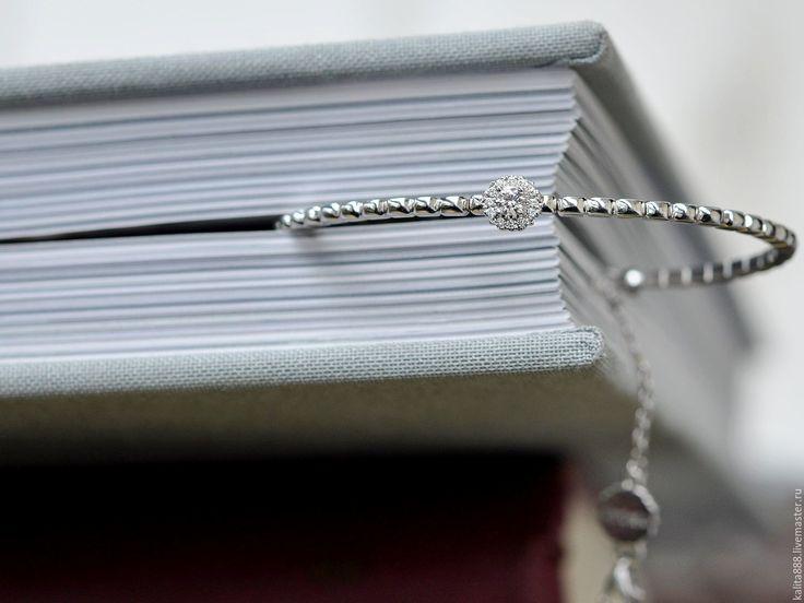 Купить Браслет из белого золота - браслет, ювелирные украшения, ювелирное украшение, ювелирные изделия