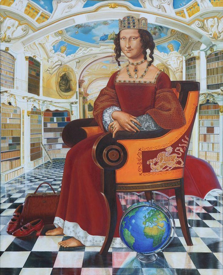 Dios te salve, Leonardo [Reynaldo Pagan Ávila] (Gioconda / Mona Lisa)