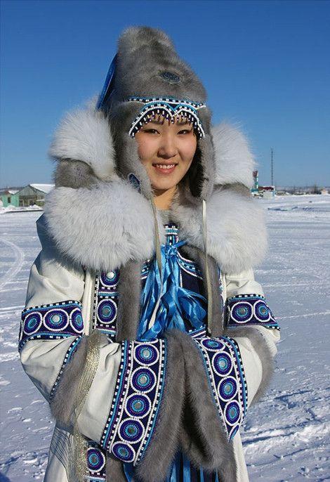Evenks woman, Yakutia, Russia https://en.m.wikipedia.org/wiki/Evenks