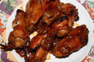 Sweet and Sticky Chicken drummettes