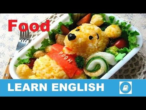 Learn English Vocabulary - Food 3 - Talking Flashcards - E ANGOL