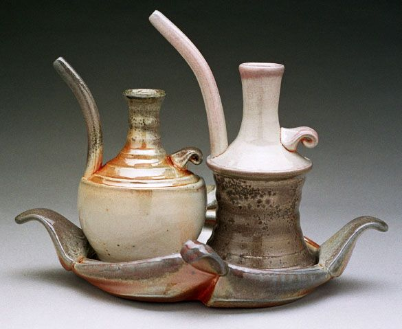 Tara DawleyArt Gallery, Sets Tara, Ceramics Teapots Pour Vessel, Cruet Sets, Pottery Pour Vessel, Carbon Trap, Clay Class, Smart Sets, Ceramics Sculpture