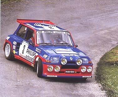 renault r5 turbo maxi (Ragnotti)