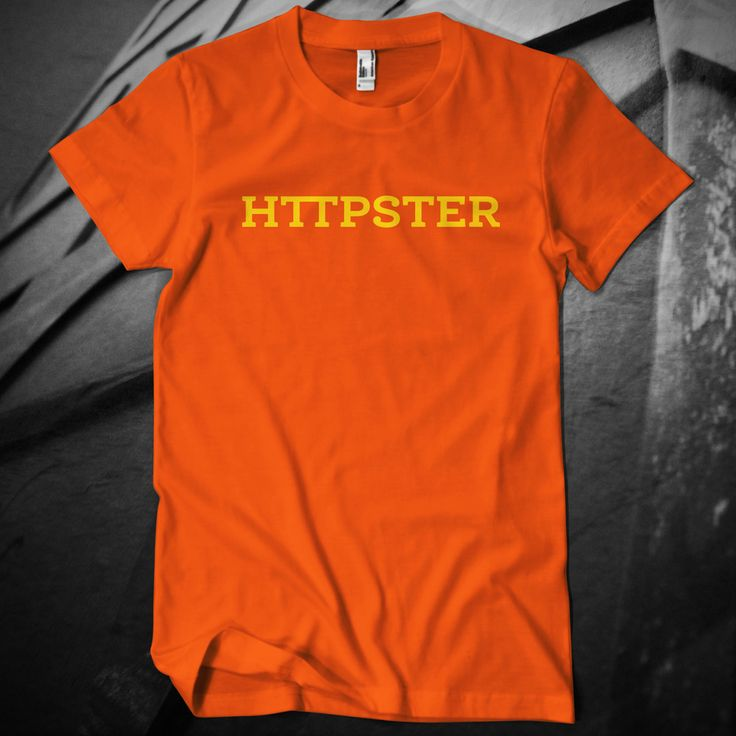 HTTPSTER Tee, Second Edition (Orange)