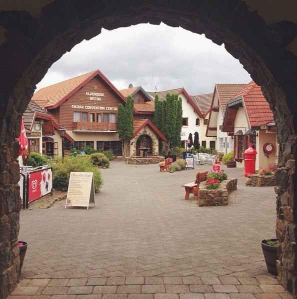 Visit a Swiss village.