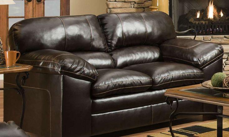 Simmons Upholstery Bingo Brown Loveseat Amp Reviews Goedekers Com Simmons Furniture Lane