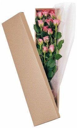 Κουτί με ροζ τριαντάφυλλα. Κλείνουμε πολύ ρομαντισμό μέσα μας? Ας πάρουμε ένα κομμάτι και ας το βάλουμε σε ένα κουτί. Πρεσβευτής του ρομαντισμού μας τα τριαντάφυλλα. Τι άλλο?