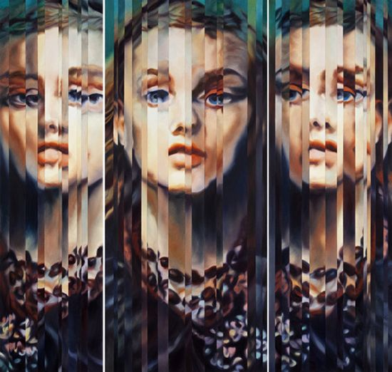 Slivered fragments by Amanda Clyne