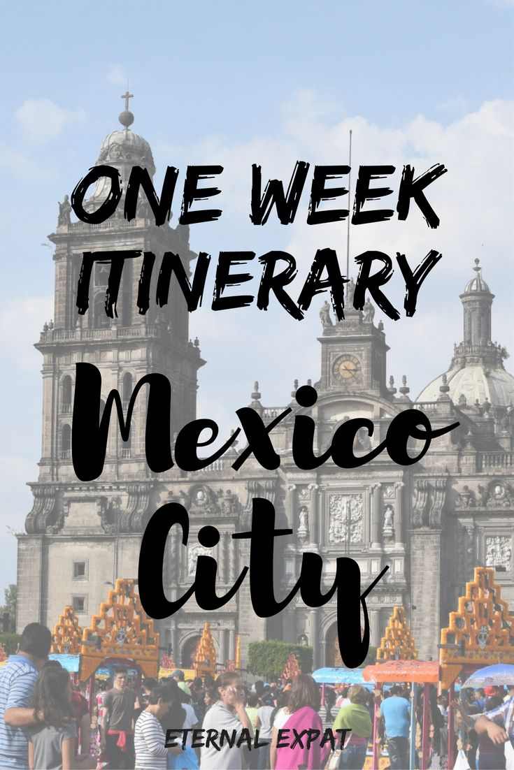 A full seven-day Itinerary for Mexico City. Where to go, where to shop, and where to eat. Plus a bonus eighth day just in case!