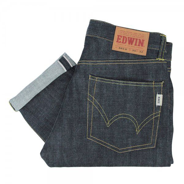 Edwin Jeans Nashville Red Selvage Denim