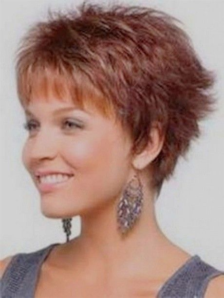 Short hair cut for women 60 years