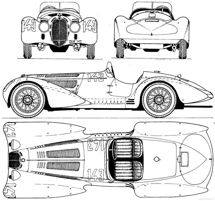59 best classic cars blueprint images on Pinterest