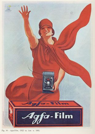 #Agfa #Film #Advertising #Campaign  #MarcelloDudovich (1878-1932)