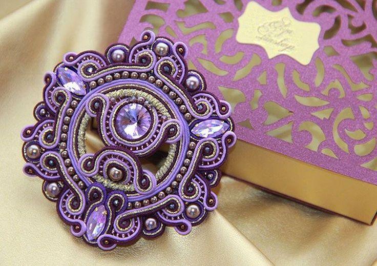 165 отметок «Нравится», 7 комментариев — Olga Lanskaya (@olgalans) в Instagram: «#style #soutachemania #soutachejewelry #soutache #look #fashion #amazing #accessories #world #women…»