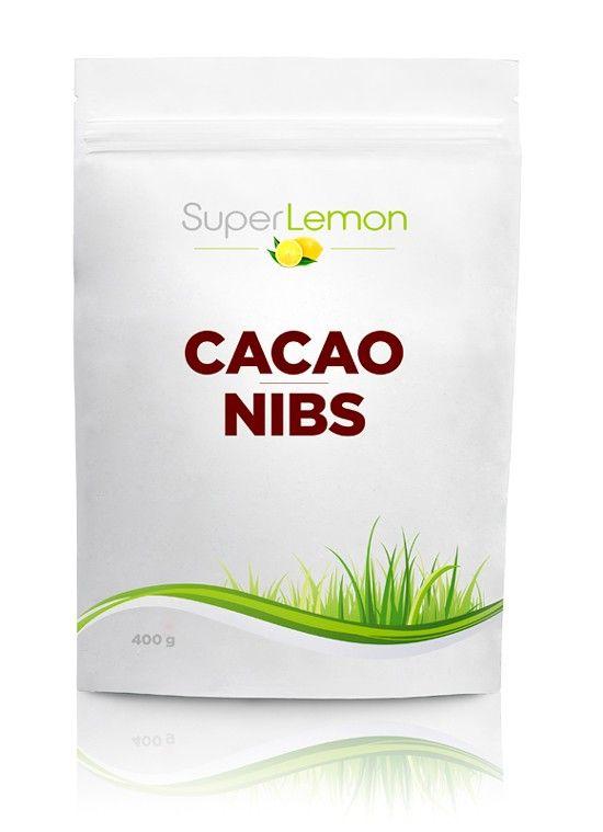 SuperLemon.fi | Tuotemerkit | SuperLemon | SuperLemon Cacao Nibs 400 g | Suomen edullisimmat raakakaakaonibsit