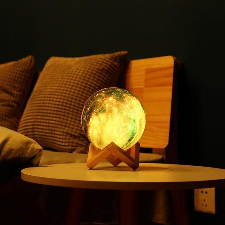 3d Star Moon Lamp Lussomo Planet Lamp Lamp Night Light
