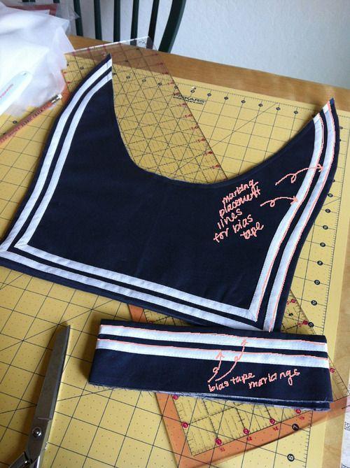 Beautiful Sailor Sewing Pattern Frieze - Knitting Pattern Ideas ...