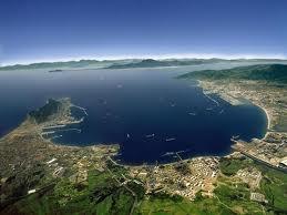 Bahía de Algeciras, Norte de Africa, Estrecho de Gibraltar.