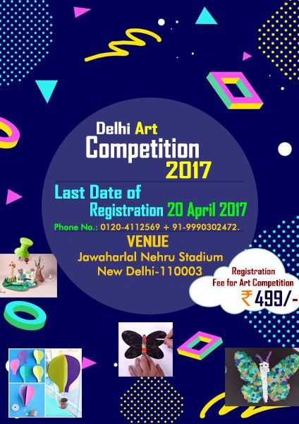 """#DAC2017 #ArtCompetitionDelhi2017 #DelhiArtCompetition2017 """"Great art picks up where nature ends."""" -- Marc Chagall  To Register for DAC2017, kindly visit us at https://www.dac2017.in/"""