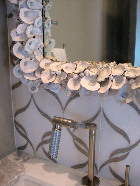 Bathroom Mirrors Virginia Beach 85 best seashell mirror images on pinterest | seashell art, shells