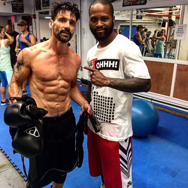 Orpheus Pledger shows off his ripped chest and chiselled ... |Frank Grillo Abs