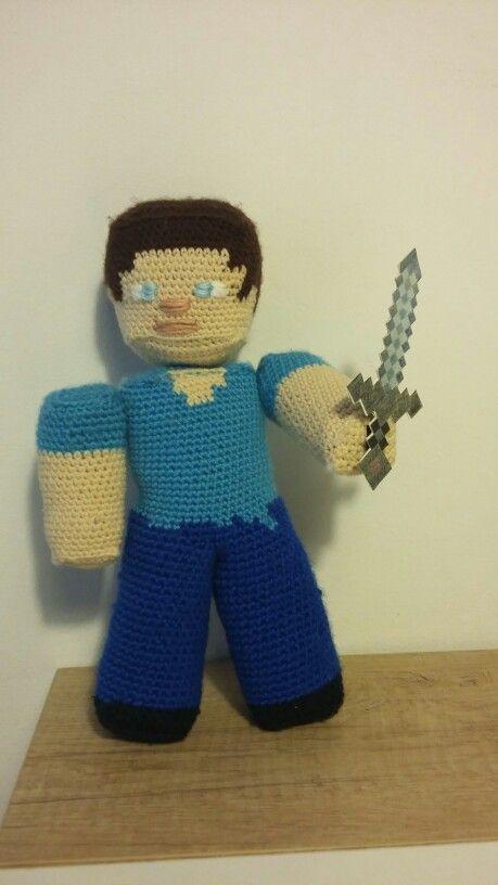 Amigurumi  Steve, Minecraft