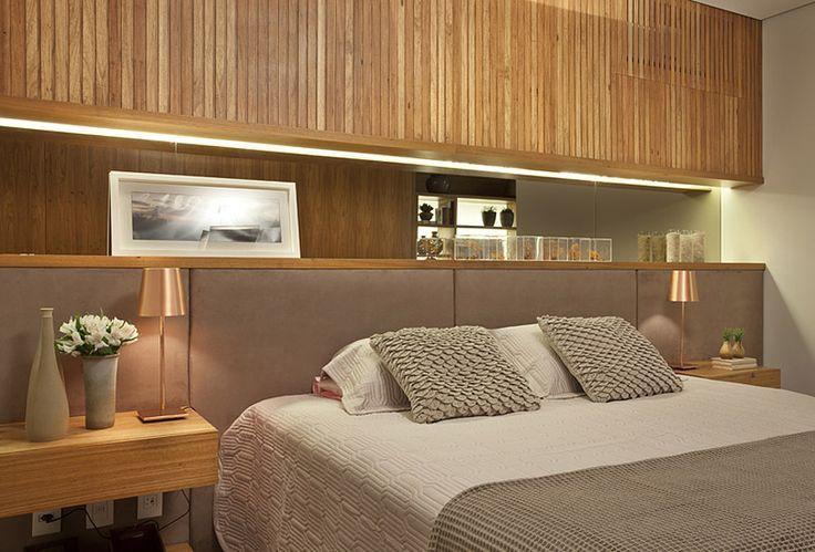 Cabeceira de cama: mais sofisticação e chame para o quarto