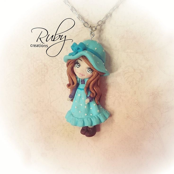Ruby doll necklace-Sarah Kay inspired by Ruby-creations.deviantart.com on @DeviantArt