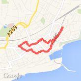 2.04 mi walk on 19/08/2013