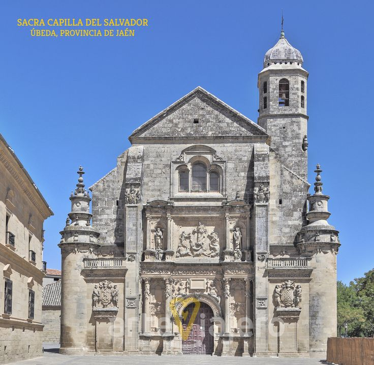 Sacra Capilla del Salvador, Úbeda (Jaén). Una joya del Renacimiento en Andalucía, intervinieron en sus obras Diego de Siloé y Andrés de Vandelvira http://arteviajero.com/