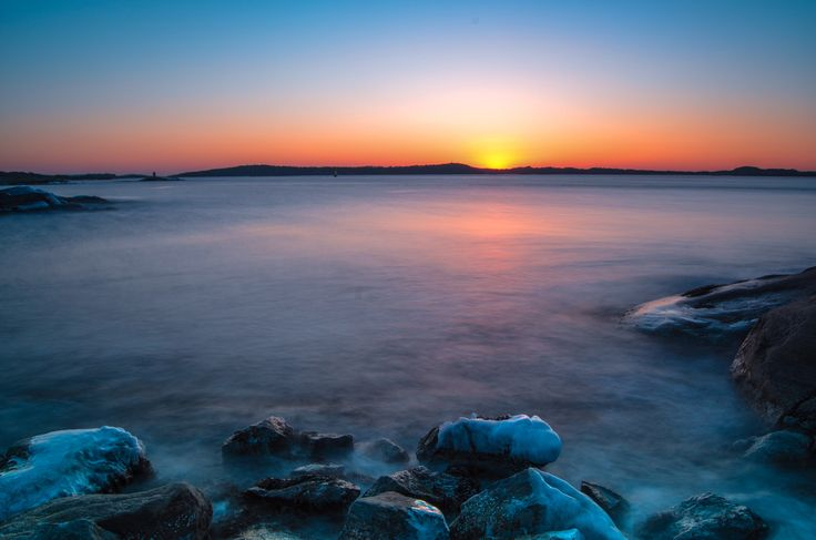 Winter sunset at Saltholmen  by Anders Mac on 500px