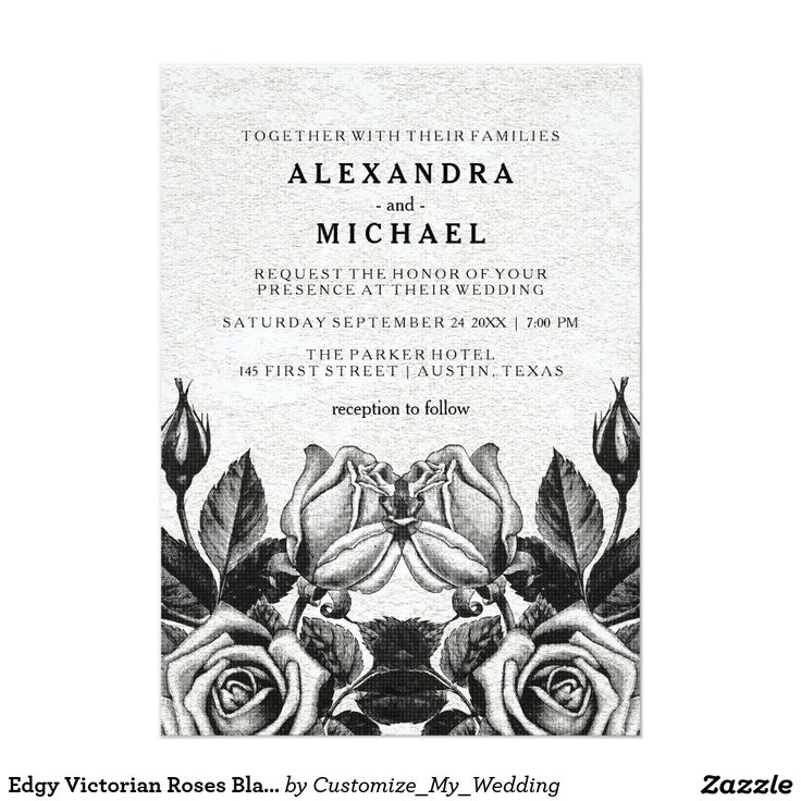 570 best invitation awesomness images – Black and White Invitation Cards
