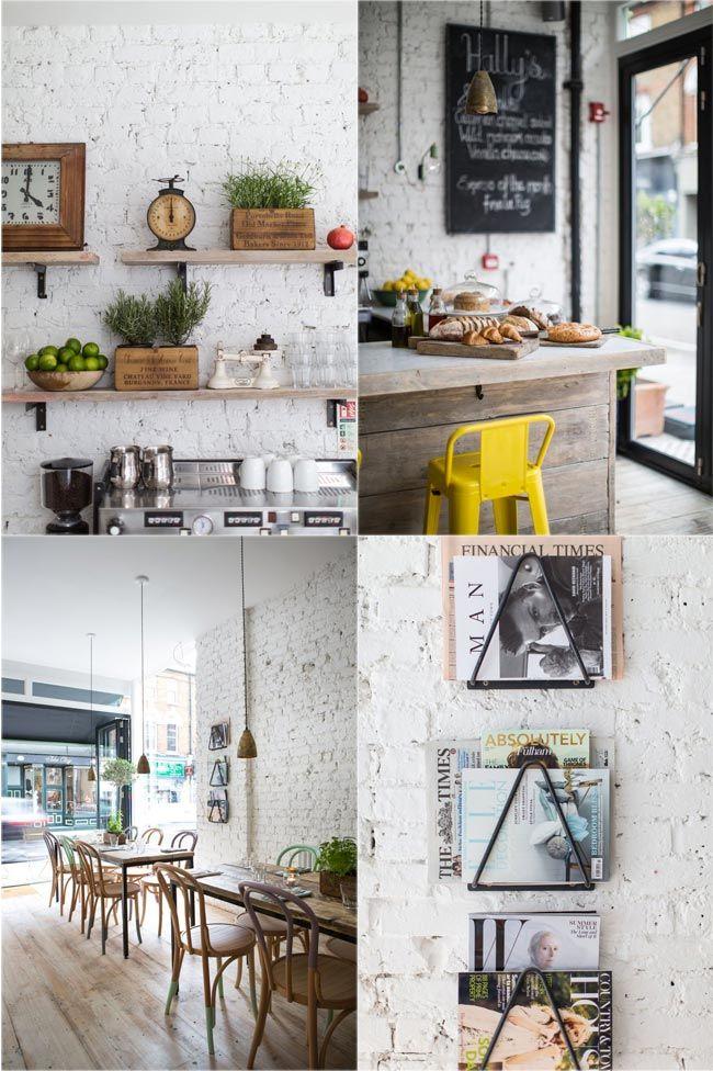 Hally's: decoración nórdica e inspiración californiana en Londres · Nordic style décor, californian-inspired food in London