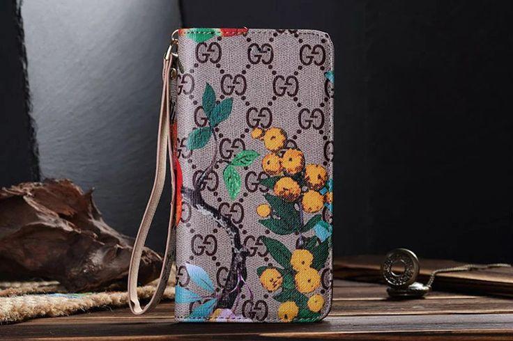 Gucci Galaxy S7 Wallet Case Fashion Bird
