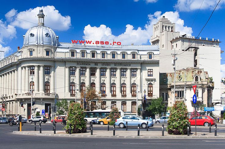 Academy of Economic Sciences in Bucharest - university buildings in Romania tend to have a similar look and feel