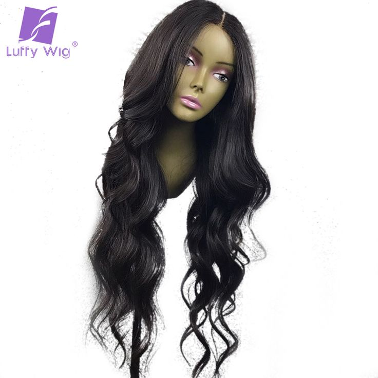 Luffy Wavy Full Lace Human Hair Wigs Glueless Pre Plucked Brazilian Wavy Non Remy Hair //Price: $US $153.45 & FREE Shipping //   http://humanhairemporium.com/products/luffy-wavy-full-lace-human-hair-wigs-glueless-pre-plucked-brazilian-wavy-non-remy-hair/  #gluelesslacewig