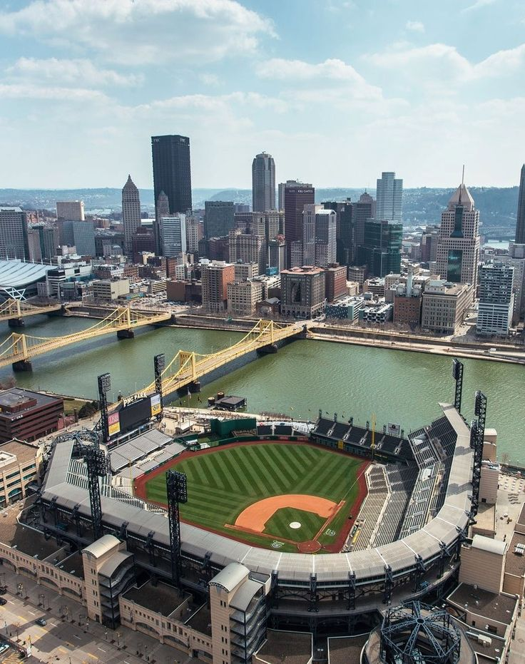 PNC Park.....awesome river and city view!