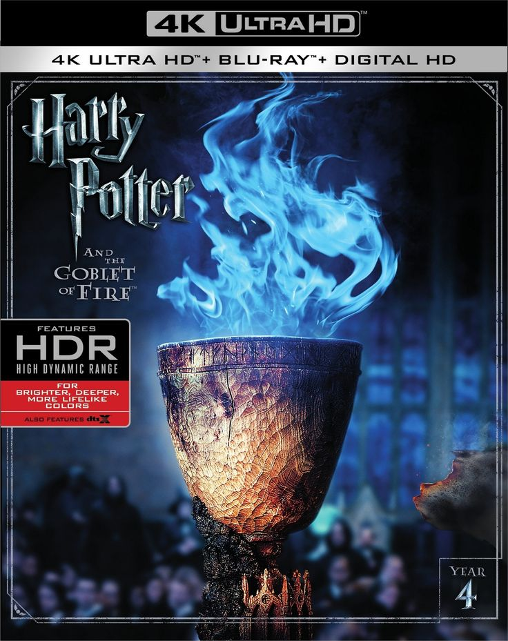 Harry Potter and the Goblet of Fire 4K (2005) UHD Ultra HD Blu-ray